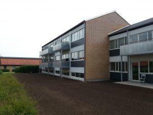 Billede af boligforening med altaner