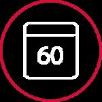 Levering af projekt inden 60 dage