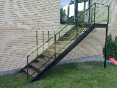 Udvendig trappe